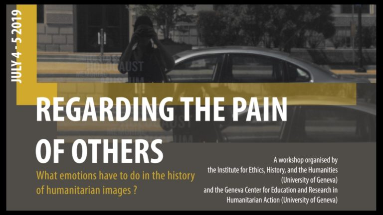 Regarding Pain Of Others >> Canadian Network On Humanitarian History Cfp Regarding The Pain